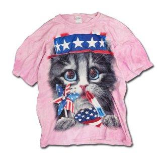 CAT TYE-DIE T-SH