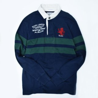 RUGBY RALPH LAUREN NY RUGGER SHIRT (VINTAGE)
