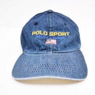 POLO SPORT DENIM CAP