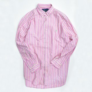 <img class='new_mark_img1' src='//img.shop-pro.jp/img/new/icons20.gif' style='border:none;display:inline;margin:0px;padding:0px;width:auto;' />[USED] POLO L/S STRIPE SHIRT