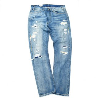 <img class='new_mark_img1' src='//img.shop-pro.jp/img/new/icons20.gif' style='border:none;display:inline;margin:0px;padding:0px;width:auto;' />LEVI'S 505 DENIM PANTS [DAMAGE]