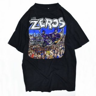 <img class='new_mark_img1' src='//img.shop-pro.jp/img/new/icons20.gif' style='border:none;display:inline;margin:0px;padding:0px;width:auto;' />[USED] THE ZEROS T-SHIRT