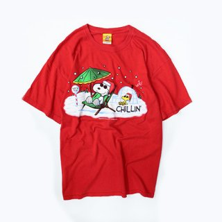 [USED] SNOOPY CHILLIN T-SH