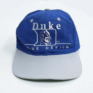<img class='new_mark_img1' src='//img.shop-pro.jp/img/new/icons20.gif' style='border:none;display:inline;margin:0px;padding:0px;width:auto;' />[USED]DUKE BLUE DEVILS CAP