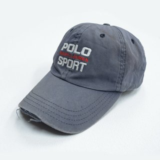 <img class='new_mark_img1' src='//img.shop-pro.jp/img/new/icons20.gif' style='border:none;display:inline;margin:0px;padding:0px;width:auto;' />[USED]POLO SPORT CAP (GREY)