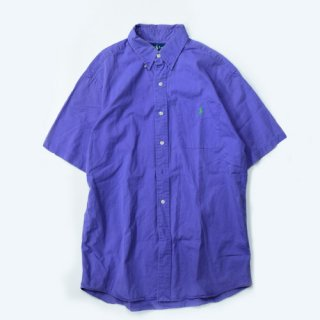 <img class='new_mark_img1' src='//img.shop-pro.jp/img/new/icons20.gif' style='border:none;display:inline;margin:0px;padding:0px;width:auto;' />[USED] RALPH LAUREN S/S SHIRT(PURPLE)