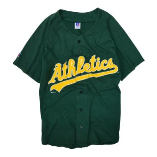 <img class='new_mark_img1' src='//img.shop-pro.jp/img/new/icons20.gif' style='border:none;display:inline;margin:0px;padding:0px;width:auto;' />[USED] ATHLETICS BASEBALL SHIRT