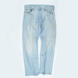 [USED] LEVI'S DENIM PANTS Ice wash (501)
