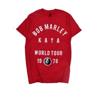 [USED] BOB MARLEY WORLD TOUR T-SH