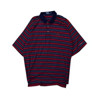 [USED] Ralph Lauren POLO-SH(RED BORDER)