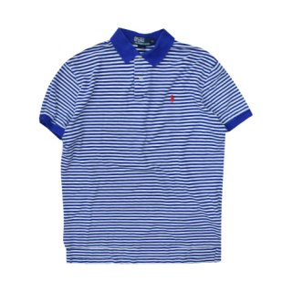[USED] Ralph Lauren POLO-SH(BLUE BORDER)