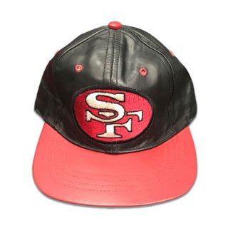 [USED] SF LEATHER CAP