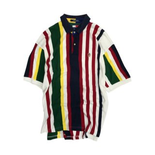 [USED] TOMMY HILFIGER STRIPE POLO SHIRTS