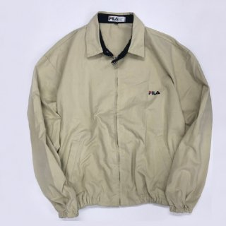 <img class='new_mark_img1' src='//img.shop-pro.jp/img/new/icons20.gif' style='border:none;display:inline;margin:0px;padding:0px;width:auto;' />[USED] FILA JACKET(BEIGE)