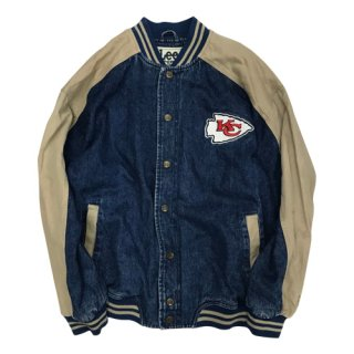 <img class='new_mark_img1' src='//img.shop-pro.jp/img/new/icons20.gif' style='border:none;display:inline;margin:0px;padding:0px;width:auto;' />[USED] Lee SPORT DENIM STADIUM JACKET