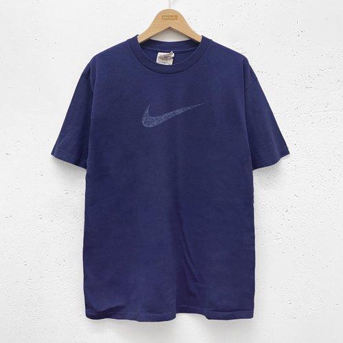 [USED] NIKE T-SH(BLUE)