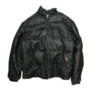 [USED] Schott LEATHER DOWN JACKET