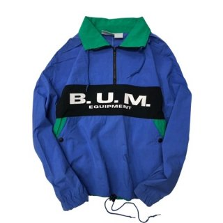 [USED] B.U.M. NYLON HALF ZIP