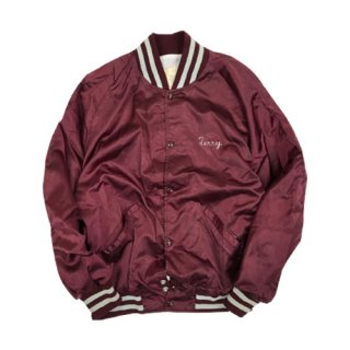 [USED] DeLONG STADIUM JACKET (BURGUNDY)