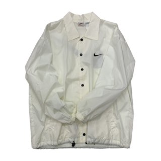 [USED] NIKE WHITE COACH JACKET