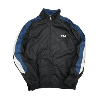 [USED] FILA NYLON JACKET (BLACK)