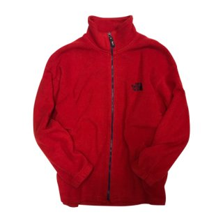 [USED] NORTH FACE FLEECE ZIP (RED)
