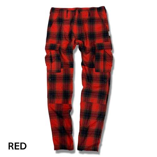 afterbase チェックパンツ CHECK pants