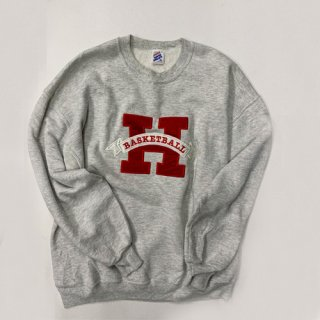 [USED] H BASKET BALL CREWNECK SWEAT