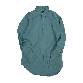 [USED] RALPH LAUREN SHIRT (EMERALD GREEN)