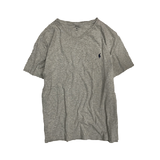 [USED] RALPH LAUREN T-SHIRT(GREY1)