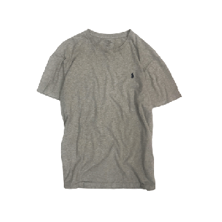 [USED] RALPH LAUREN T-SHIRT(GREY2)