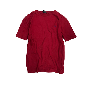 [USED] RALPH LAUREN T-SHIRT(RED1)