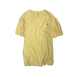 [USED] RALPH LAUREN T-SHIRT(YELLOW)
