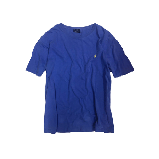 [USED] RALPH LAUREN T-SHIRT(BLUE)
