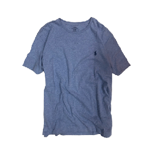 [USED] RALPH LAUREN T-SHIRT(SKYBLUE)