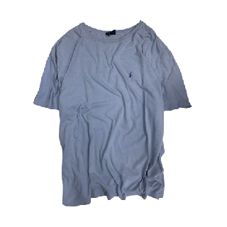 [USED] RALPH LAUREN T-SHIRT(SKYBLUE2)