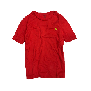 [USED] RALPH LAUREN T-SHIRT(RED2)