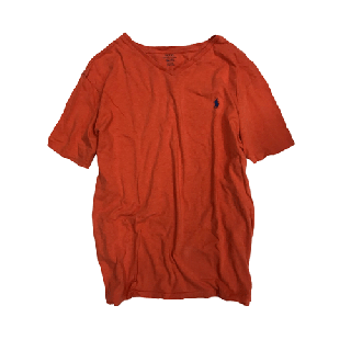 [USED] RALPH LAUREN T-SHIRT(ORANGE)