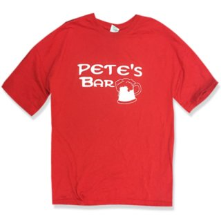 [USED] PETE`S BAR T-SHIRT