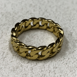 GOLD RING CHAIN