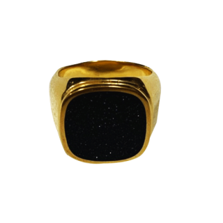 GOLD RING STONE
