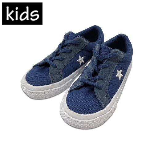 CONVERSE ONE STAR OX BOYS TODDler [Navy]