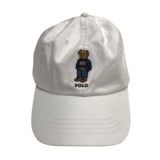 POLO by LARPH LAUREN POLO BEAR CAP USA SWEATER