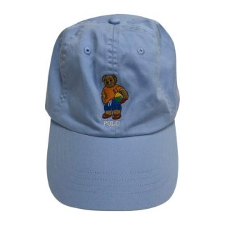 POLO by LARPH LAUREN POLO BEAR CAP SKY BLUE
