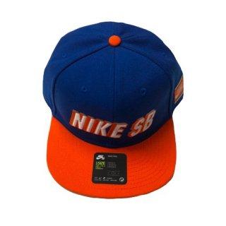 NIKE SB CAP(BLUE×ORANGE)