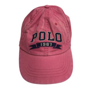 POLO by LARPH LAUREN POLO 1967 CAP PINK