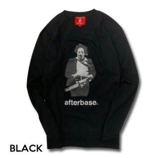 afterbase [Chain Saw] ロングスリーブティーシャツ L/S T-SHIRTS