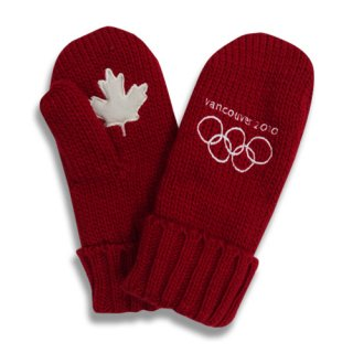 [USED] VANCOUVER 2010 KNIT GLOVE