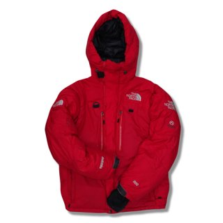 [USED] THE NORTH FACE HIMALAYAN PARKA [RED]