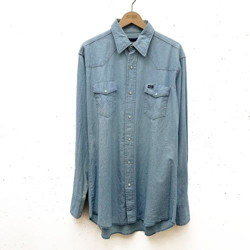 [USED] WRANGLER DENIM SHIRT